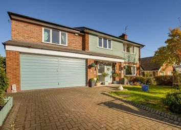 Thumbnail 5 bed detached house for sale in Lodge Way, Grantham