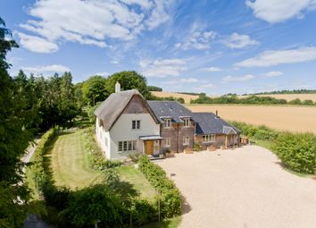 Middlecot, Quarley, Andover, Hampshire SP11. 6 bed detached house for sale