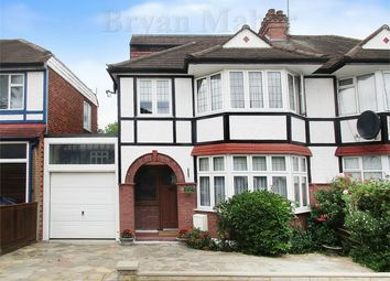 Thumbnail Semi-detached house for sale in Elmstead Avenue, Wembley