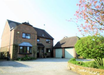 Thumbnail 4 bed detached house for sale in Upham Street, Upham, Southampton