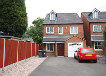 Thumbnail 4 bedroom detached house for sale in Nursery Gardens, Coalville