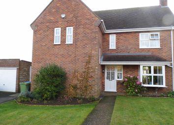 Thumbnail 3 bed detached house for sale in Salisbury Avenue, Brookenby, Binbrook, Market Rasen