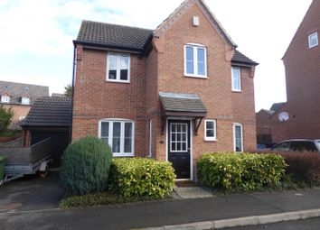 Thumbnail 3 bed detached house for sale in Magistrates Road, Hampton Vale, Peterborough