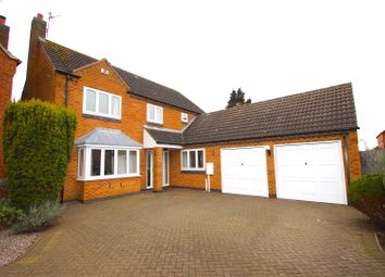 4 bed detached house for sale in Manor Gardens, Desford, Leicester LE9