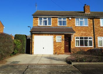 Thumbnail 3 bedroom semi-detached house for sale in Helston Road, Springfield, Chelmsford