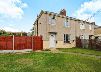 Thumbnail 3 bedroom semi-detached house for sale in Stowupland Road, Stowupland, Stowmarket