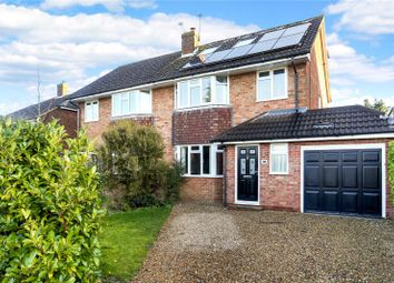 Thumbnail 4 bed semi-detached house for sale in Orchard Close, Normandy, Guildford, Surrey