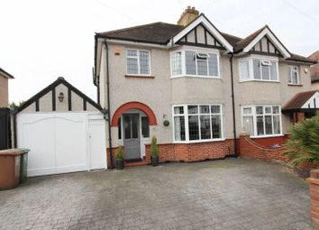 Thumbnail 3 bed semi-detached house for sale in Courtenay Road, Worcester Park