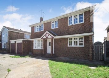 Thumbnail 4 bed detached house for sale in Westwood Road, Canvey Island