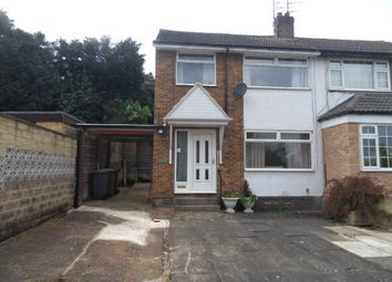 Thumbnail 3 bed semi-detached house for sale in Clerk Green Street, Batley, West Yorkshire