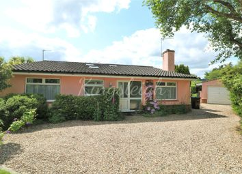Thumbnail 3 bed detached bungalow for sale in Mill Lane, Bradfield, Manningtree, Essex