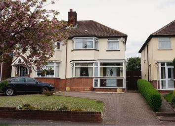 Thumbnail 3 bed semi-detached house for sale in Scott Road, Great Barr, Birmingham