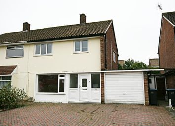 Thumbnail 3 bedroom semi-detached house to rent in Halling Hill, Harlow, Essex