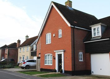 Thumbnail 3 bed detached house to rent in Sowdlefield Walk, Mulbarton, Norwich