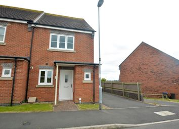 Thumbnail 2 bed semi-detached house to rent in Omaha Drive, Hinckley, Leicestershire