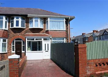 Thumbnail 3 bedroom end terrace house for sale in Horncliffe Road, Blackpool
