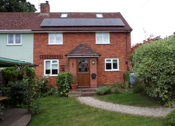 Thumbnail 3 bedroom semi-detached house for sale in The Crescent, Hurstbourne Tarrant, Andover