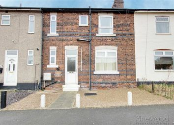 Thumbnail 3 bed terraced house to rent in North Terrace, Chesterfield, Derbyshire