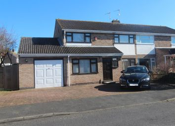 Thumbnail 3 bed semi-detached house to rent in Tilton Drive, Oadby, Leicester