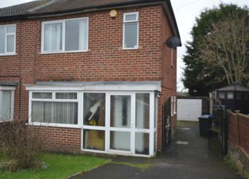 Thumbnail 3 bed semi-detached house to rent in Nevinson Avenue, Sunnyhill, Derby