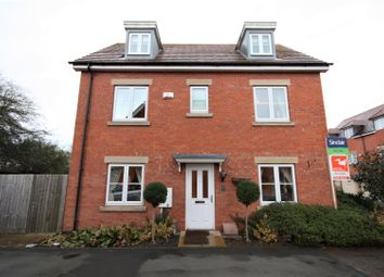 Thumbnail 4 bedroom detached house for sale in Discovery Close, Coalville