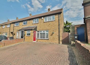 Thumbnail 3 bed end terrace house for sale in St. Hildas Way, Gravesend