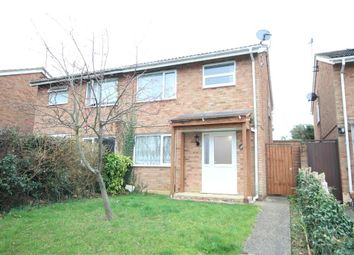 Thumbnail 3 bed semi-detached house to rent in Roche Way, Wellingborough, Northamptonshire