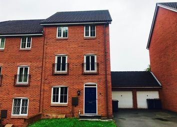 Thumbnail 4 bed town house to rent in Valley View, Clayton, Newcastle-Under-Lyme