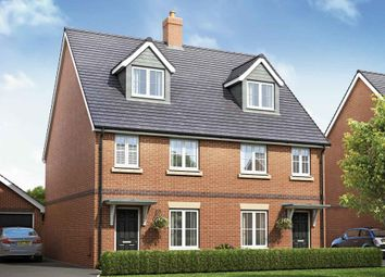 "Thumbnail 3 bed semi-detached house for sale in ""Plots 300 & 301 - The Ashton"" at Fulbeck Avenue, Worthing"