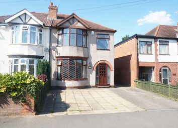 Thumbnail 4 bed semi-detached house for sale in Fir Tree Avenue, Coventry
