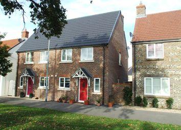 Thumbnail 2 bedroom semi-detached house to rent in Brewer Walk, Crossways, Dorchester, Dorset