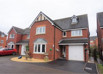 Thumbnail 4 bed detached house for sale in Drake Close, Shrewsbury