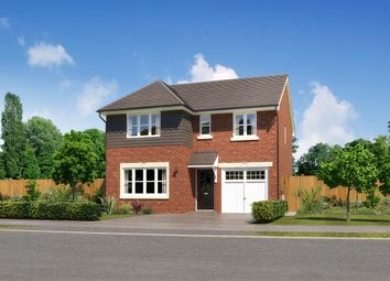 "Thumbnail 4 bedroom detached house for sale in ""Dukeswood"" at Moorfields, Willaston, Nantwich"