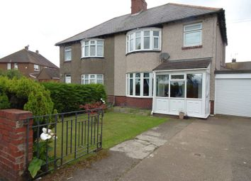 Thumbnail 3 bed semi-detached house for sale in Acklington Road, Amble, Morpeth