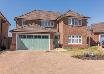 Thumbnail 4 bed detached house for sale in Page Road, Market Harborough