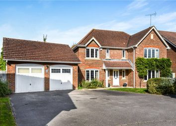 Thumbnail 5 bed detached house for sale in Rasset Mead, Crookham Village, Fleet