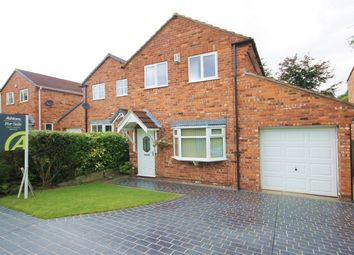 Thumbnail 3 bed detached house for sale in Shetland Close, Fearnhead, Warrington