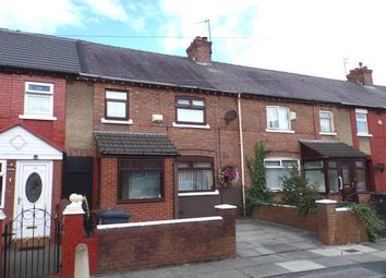 Thumbnail 3 bedroom terraced house for sale in Wood Avenue, Bootle, Liverpool, Merseyside