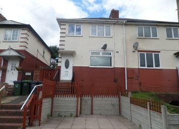 Thumbnail 3 bed semi-detached house to rent in Wallace Road, Oldbury