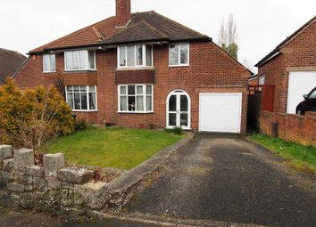 Thumbnail 3 bed semi-detached house for sale in Leopold Avenue, Birmingham