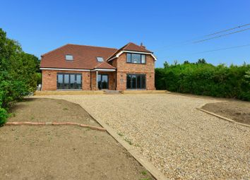 Thumbnail 4 bed detached house for sale in Old Roman Road, Martin Mill, Dover