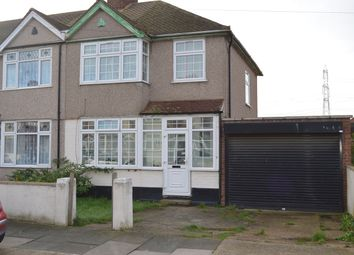 Thumbnail 3 bed end terrace house to rent in Rothbury Avenue, Rainham