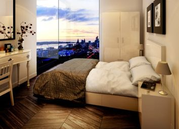 Thumbnail 1 bed flat for sale in X1 The Tower Apartments, Liverpool