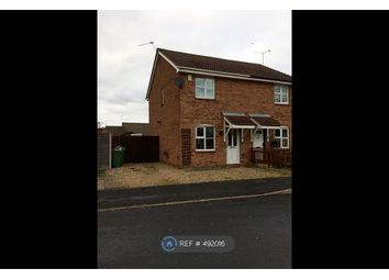 Thumbnail 2 bed semi-detached house to rent in Meadow Court, Leicester