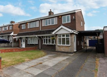 Thumbnail 3 bed semi-detached house for sale in Carberry Way, Parkhall, Stoke-On-Trent