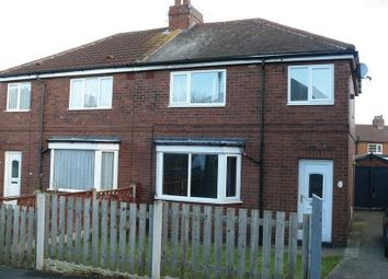 Thumbnail 3 bed semi-detached house for sale in Grove Lea Crescent, Pontefract