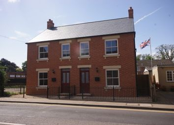 Thumbnail 2 bed semi-detached house to rent in West End, Holbeach, Spalding