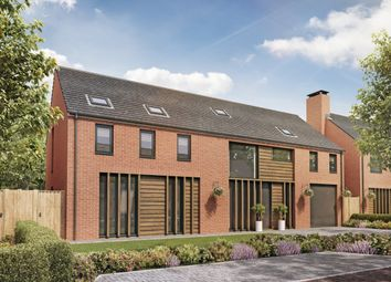 Thumbnail 5 bed detached house for sale in Culcheth Hall Drive, Culcheth, Warrington