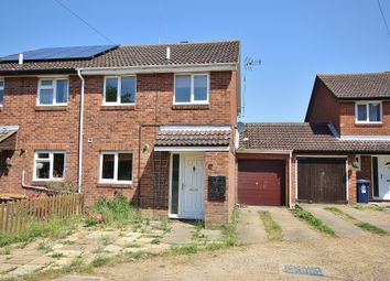 Thumbnail 4 bed semi-detached house for sale in The Paddock, Somersham, Cambs