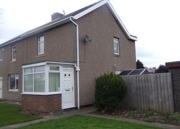 Thumbnail 2 bed semi-detached house to rent in Grange Avenue, Shiremoor, Newcastle Upon Tyne